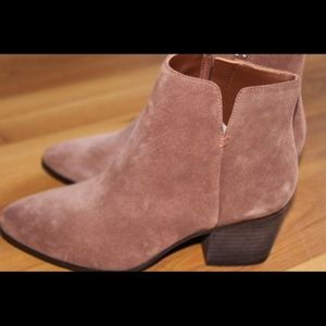 ALDO Brown Suede Ankle Boot | Sx 6